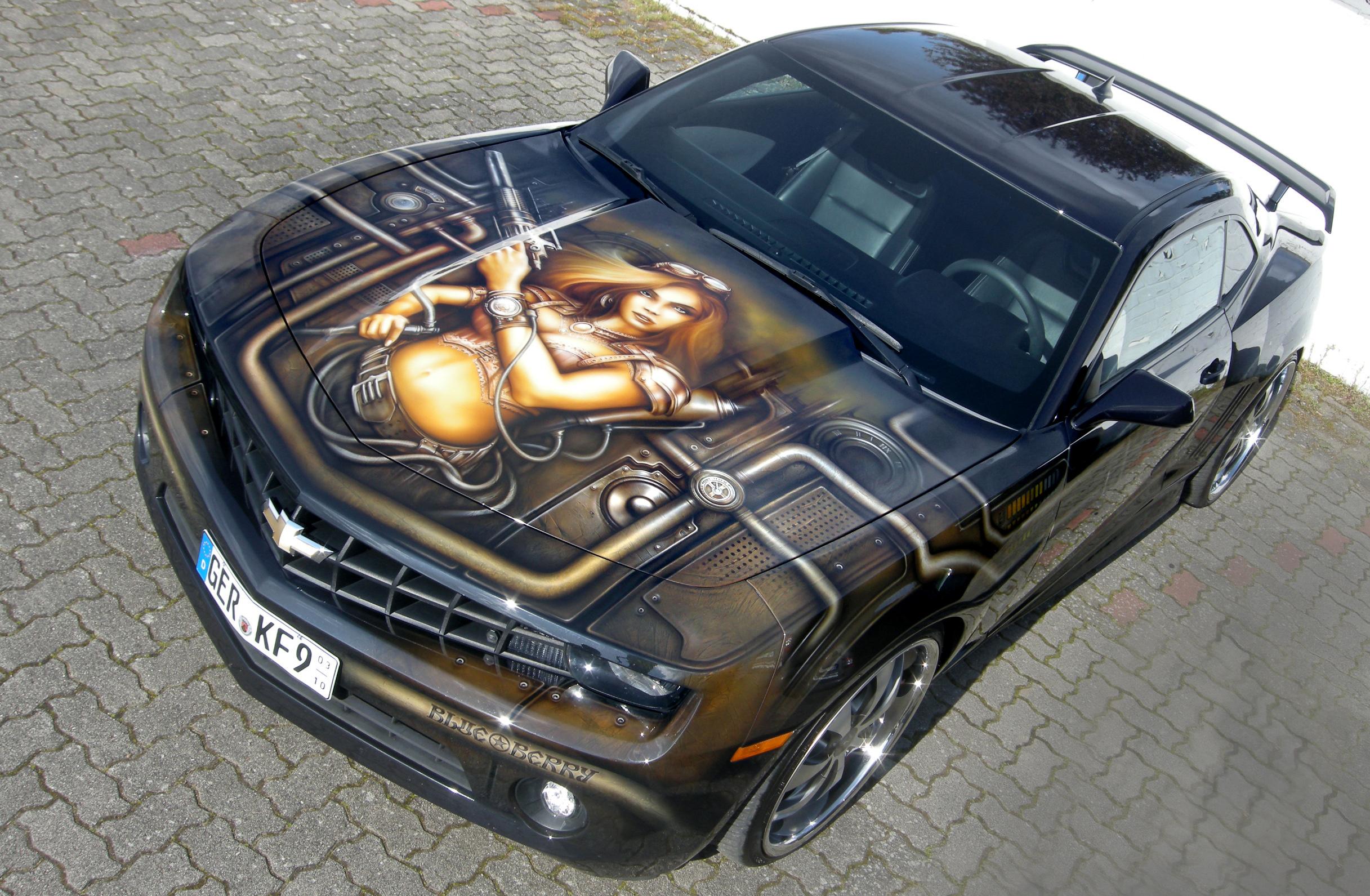 Steampunk Camaro