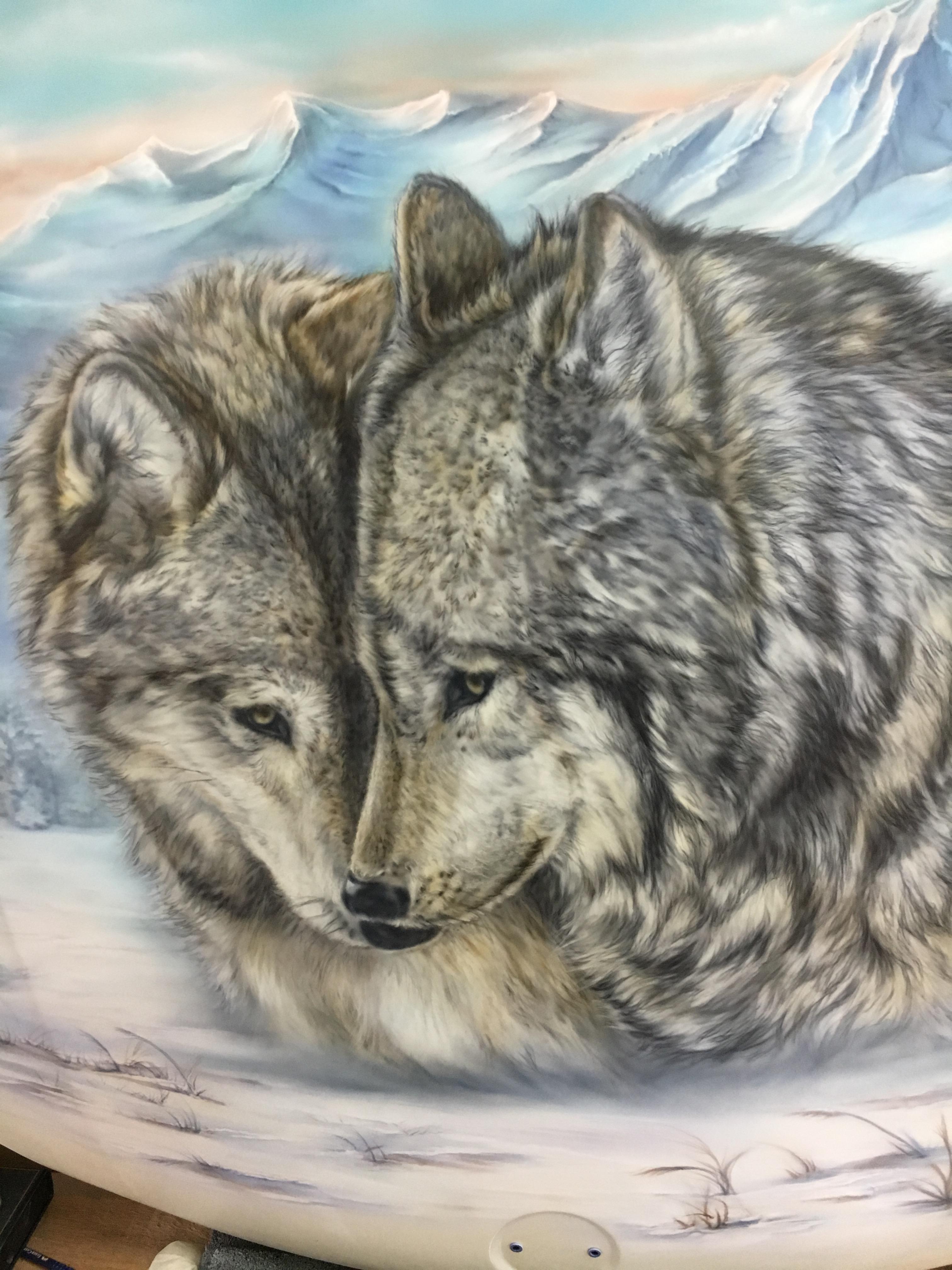 Wölfe und ihre Lebensräume