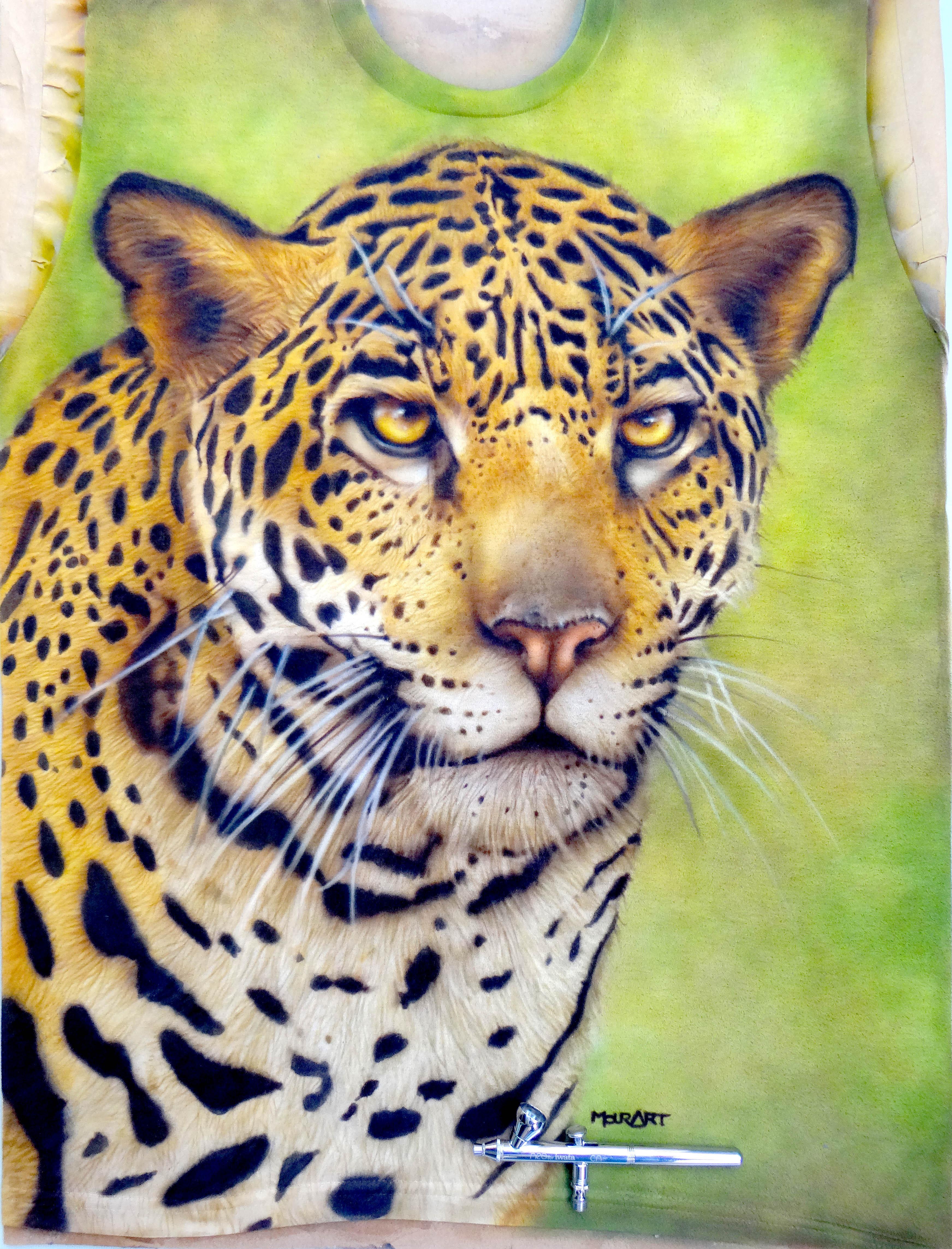 Jaguar auf T-Shirt