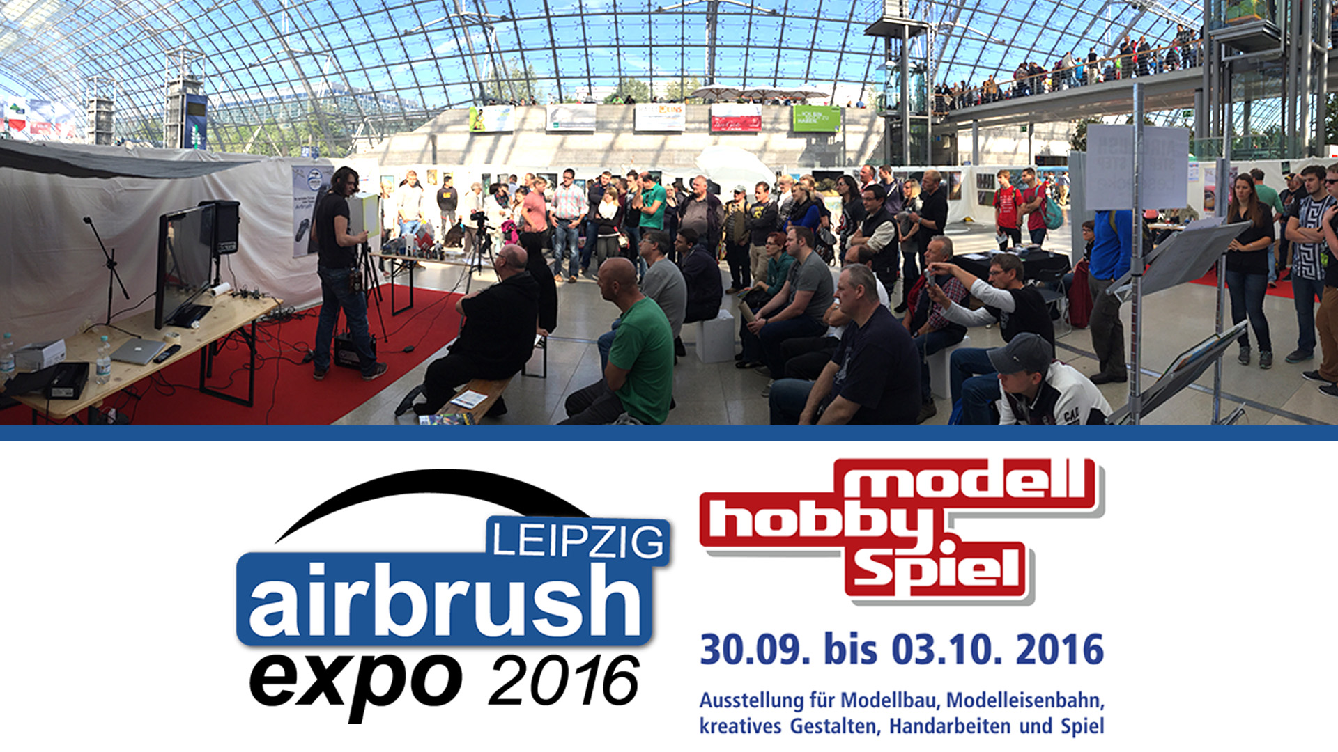 Es geht weiter: Airbrush Expo Leipzig 2016