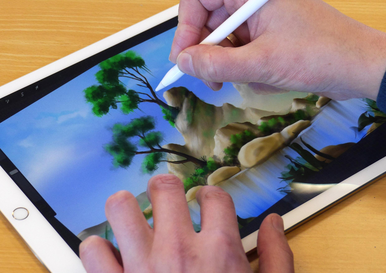 Kreativ werden mit dem iPad – Apple Event mit Roger Hassler