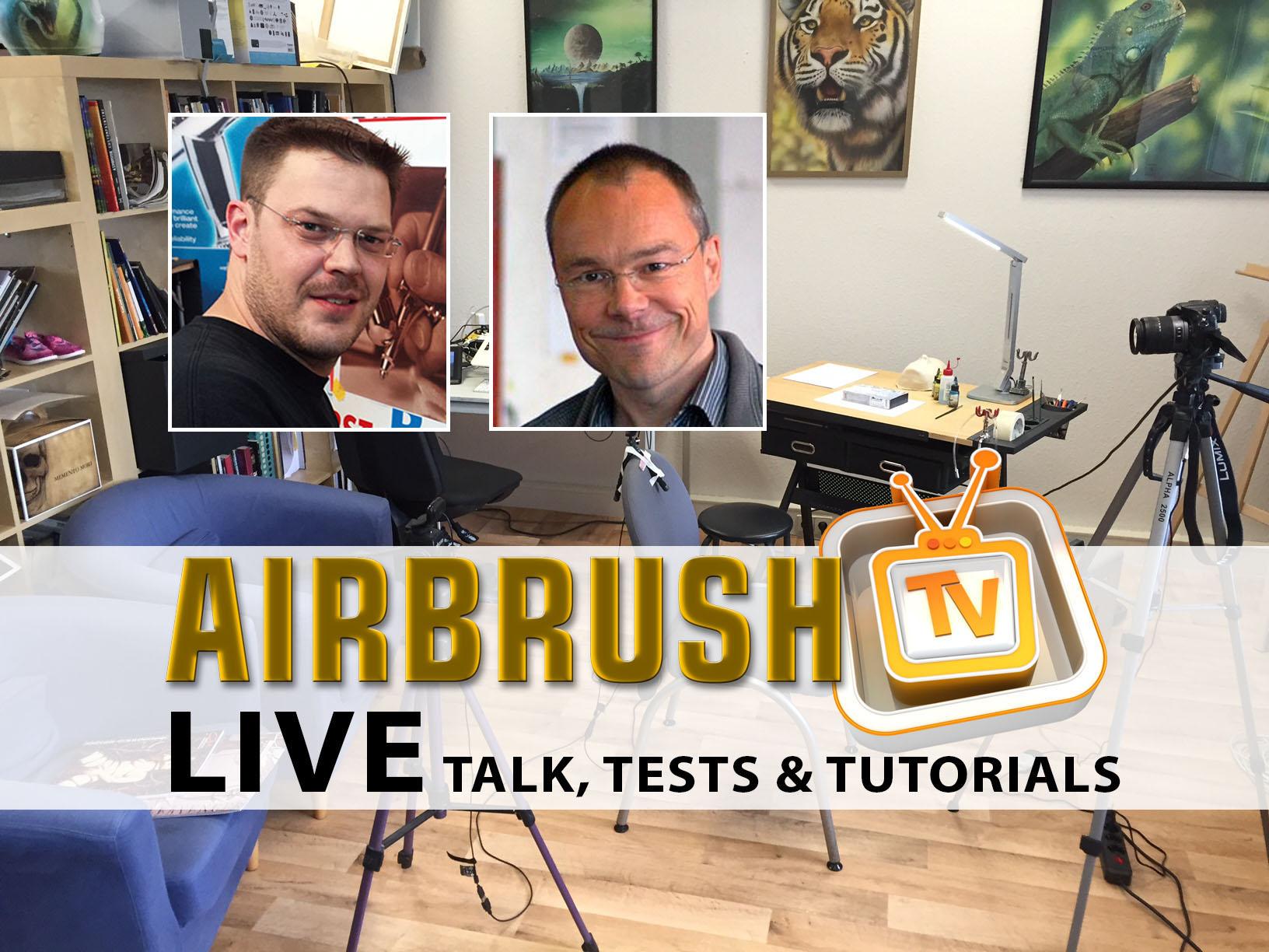 Airbrush TV Live am 20. Mai 19.00 Uhr