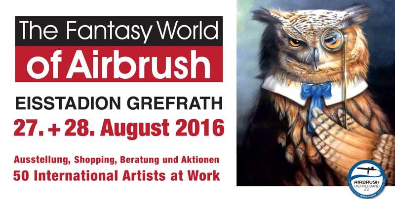 The Fantasy World of Airbrush: Sommer-Event am Niederrhein