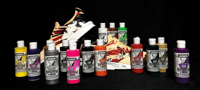 Airbrush-Farbset von Jaquard zu gewinnen!