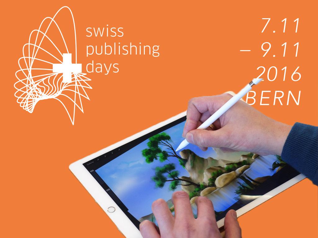 Chefredakteur Roger Hassler bei den Swiss Publishing Days