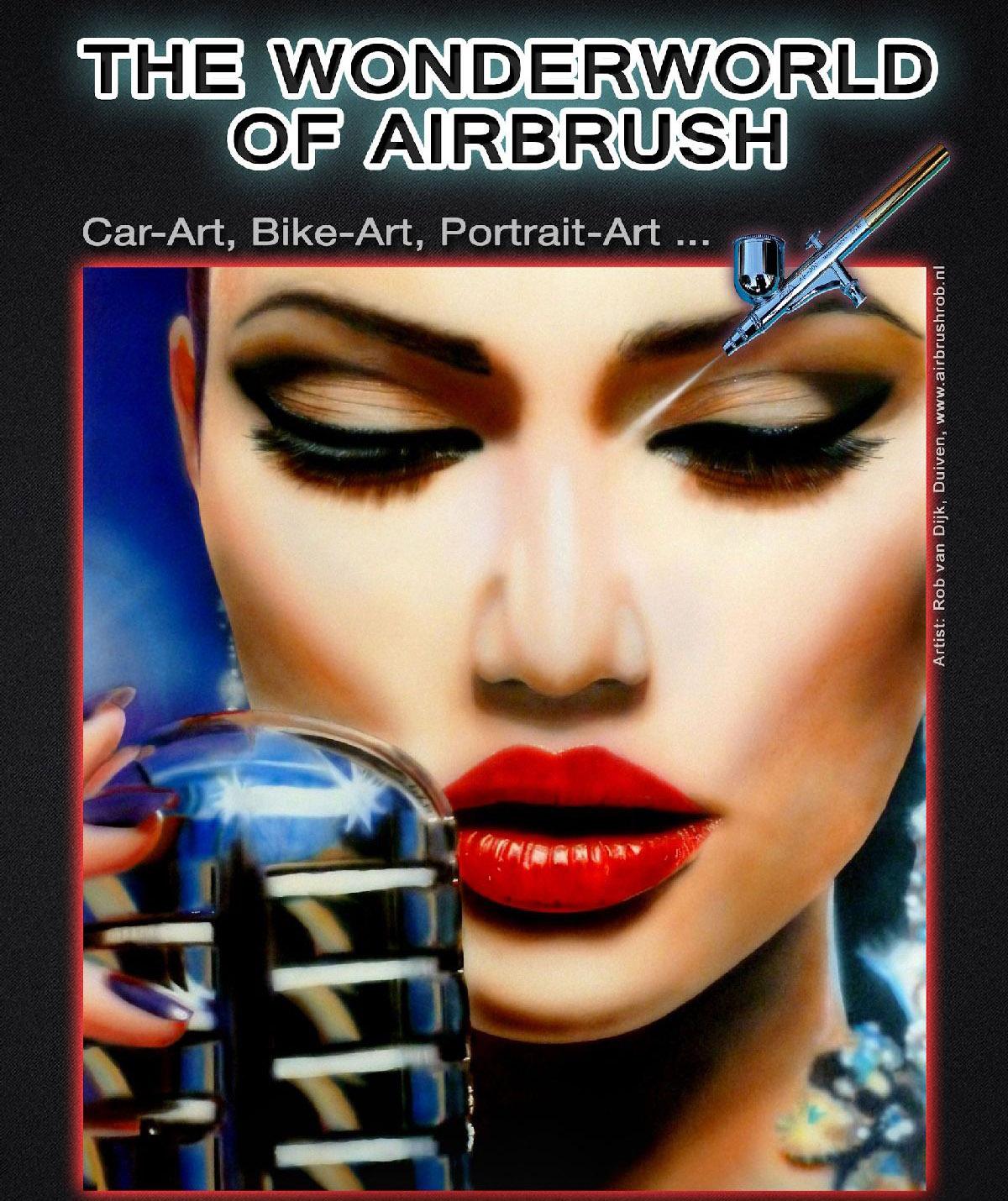THE WONDERWORLD OF AIRBRUSH 2016