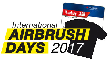 Special Ticket für die International Airbrush Tickets 2017