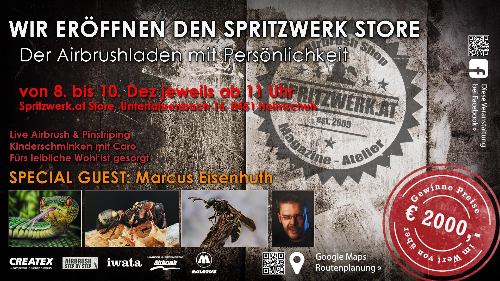 Shop-Neueröffnung in Österreich