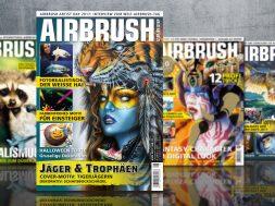Airbrush Magazin Ausgabe 06 2017