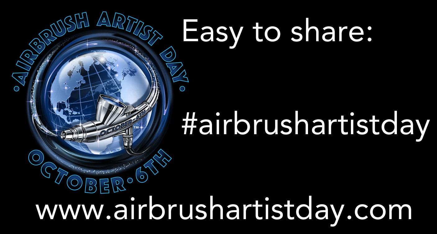 Airbrush Step by Step macht mit beim Airbrush Artist Day 2017