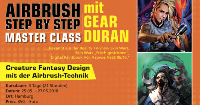 Creature Fantasy Design mit Gear Duran