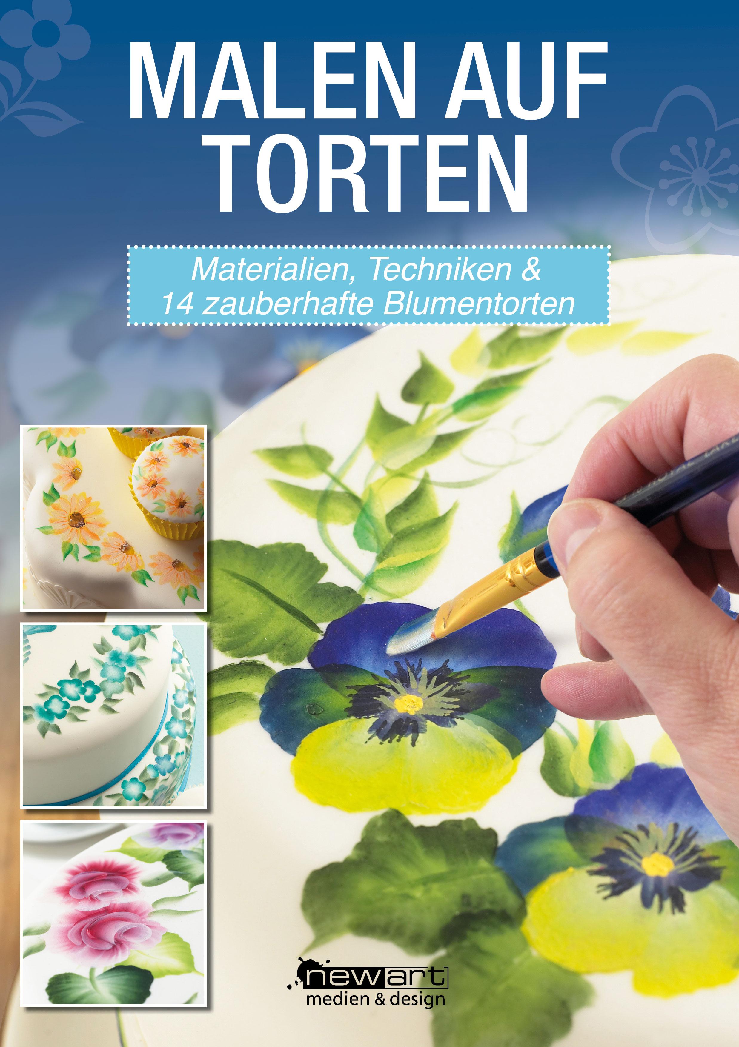Malen auf Torten – mal ohne Airbrush