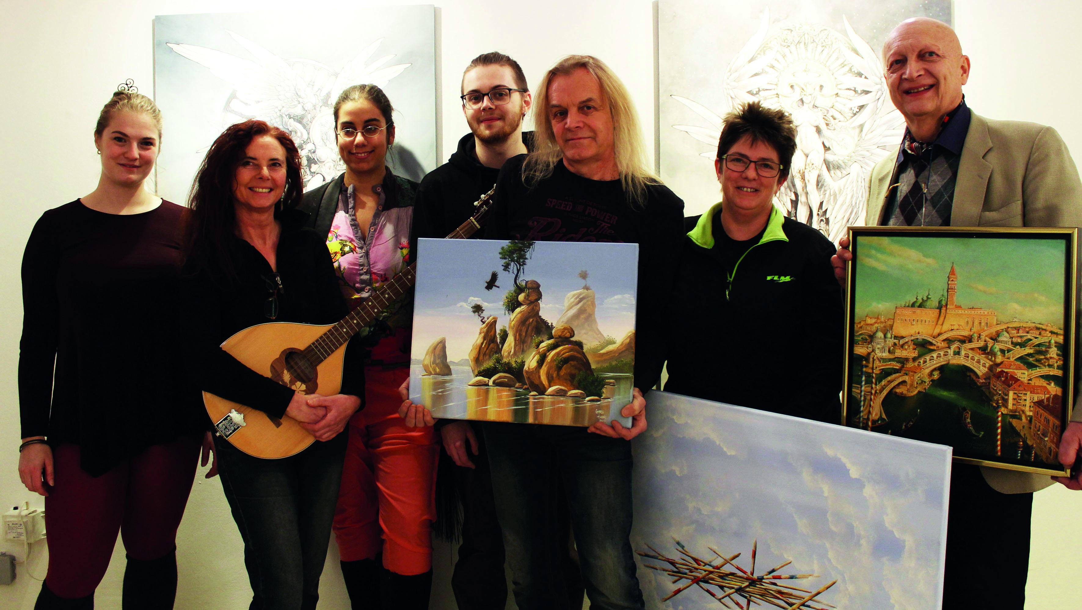 Traum & Zeit: Internationale Kunstausstellung im Sisi-Schloss