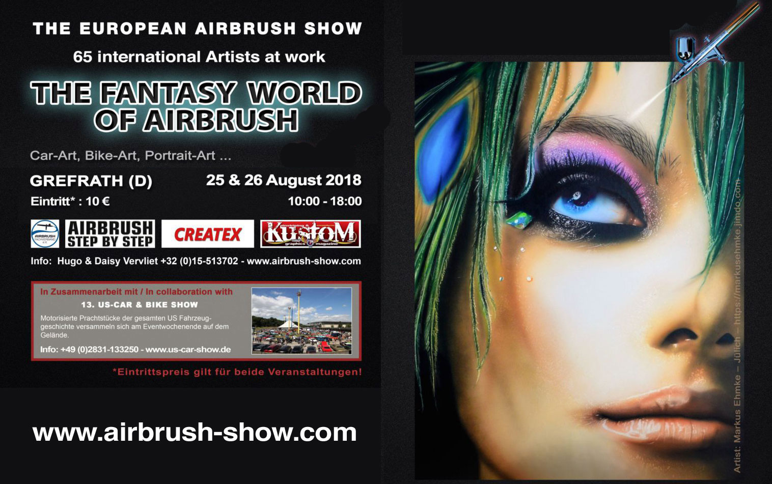 The Fantasy World of Airbrush: Meet & Greet in Grefrath