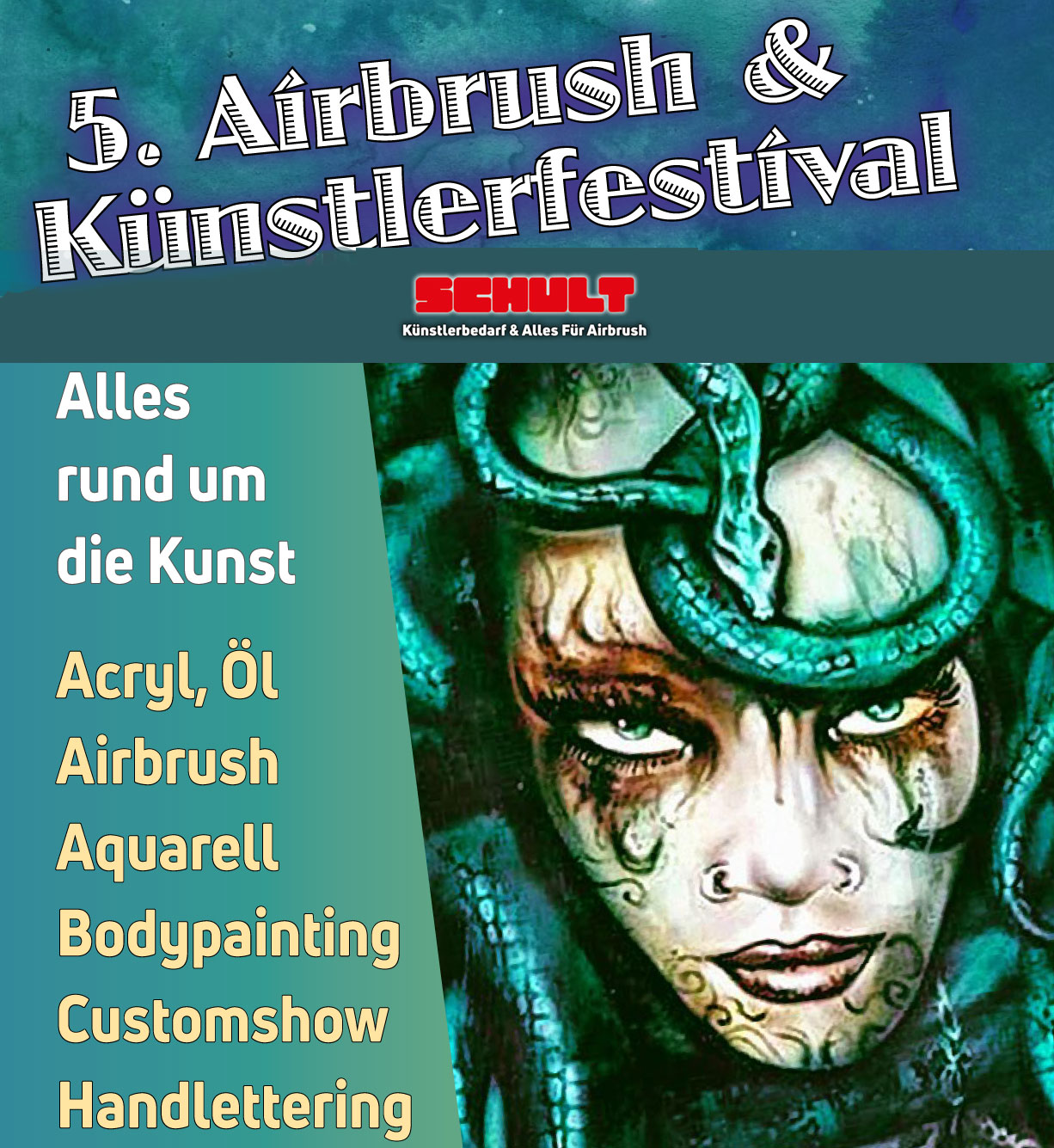 5. Airbrush- & Künstlerfestival Recklinghausen