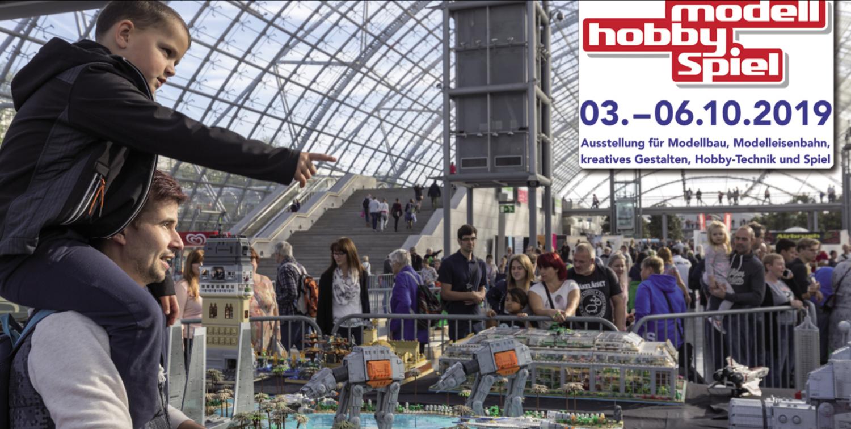 Modell-Hobby-Spiel in Leipzig: Auch ohne Airbrush Expo eine Reise wert
