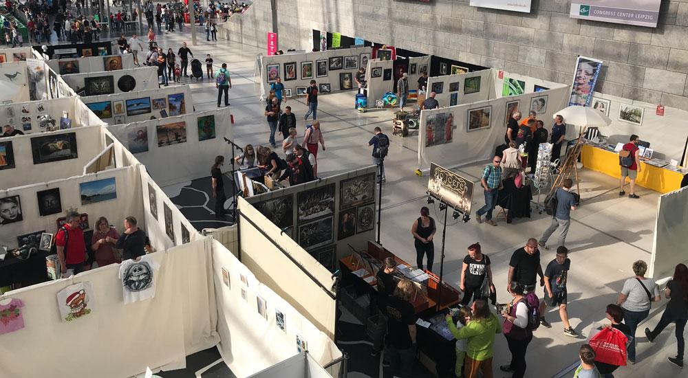 Airbrush Expo Leipzig: Ein Stück Airbrush-Geschichte geht zu Ende