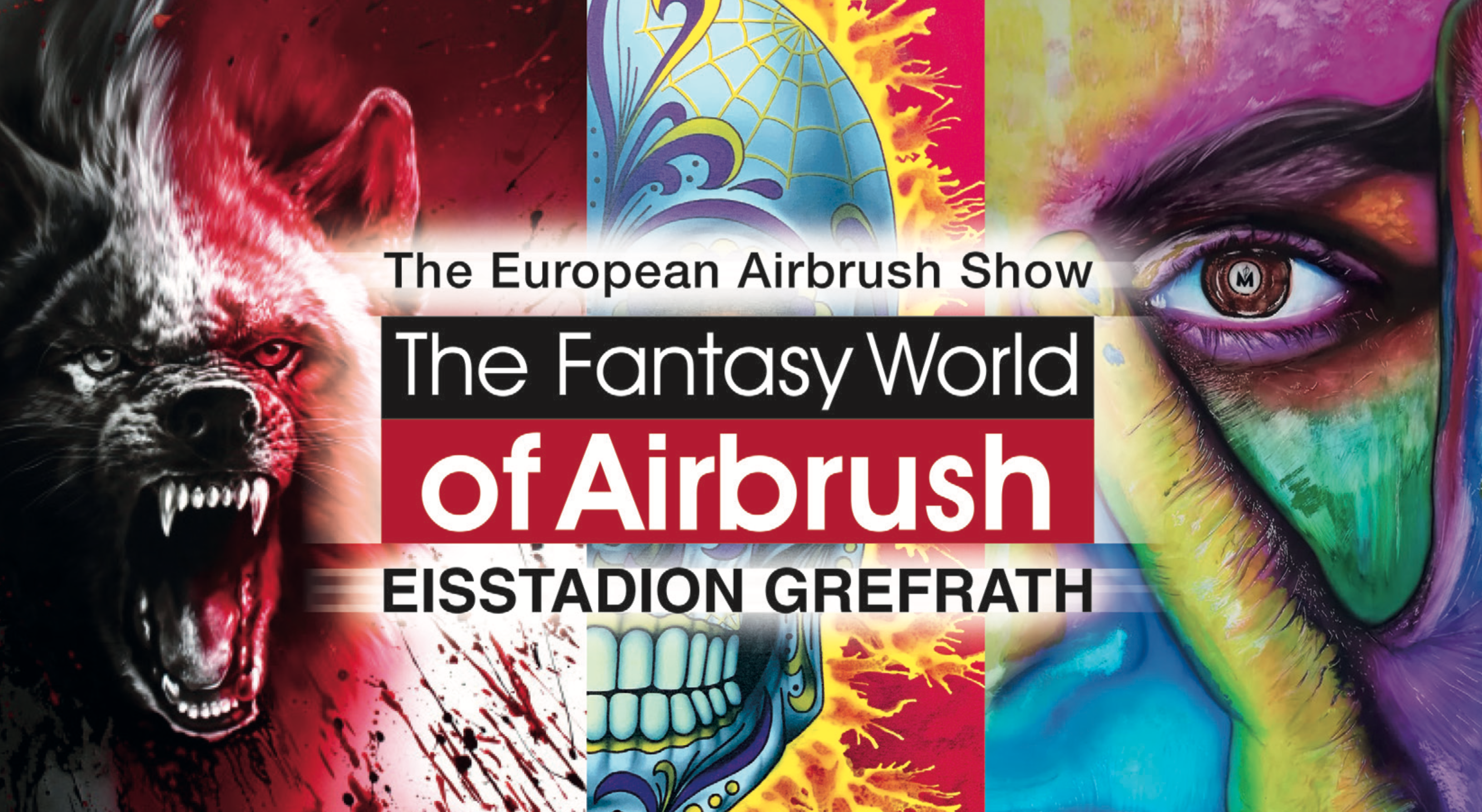 Werde Teil der Fantasy World of Airbrush!