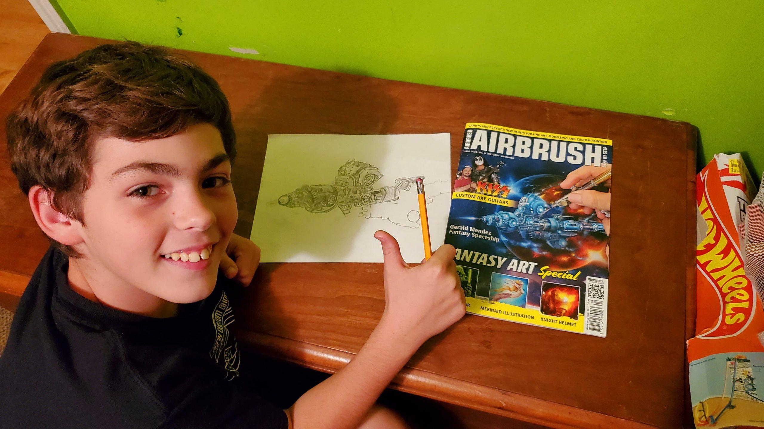 Airbrush Step by Step: Inspiration auch schon für die Kleinen