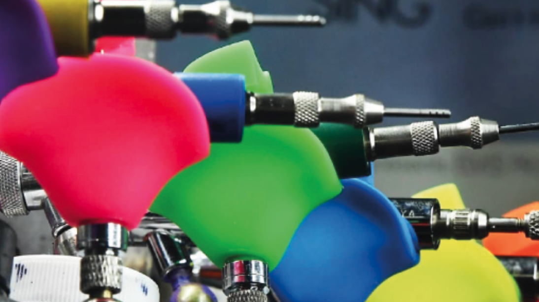 Trigger Happy: Ermüdungsfreies Arbeiten und präzise Airbrush-Steuerung