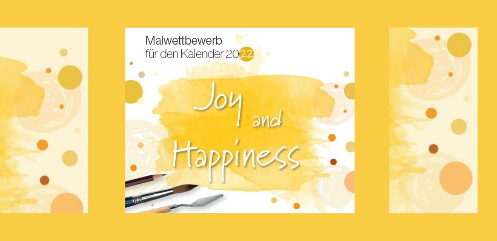 Freude & Glück – Malwettbewerb für den Hahnemühle Kalender 2022