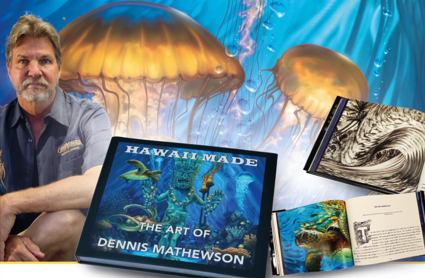 Inselparadies auf 244 Seiten: Hawaii made – The Art of Dennis Mathewson