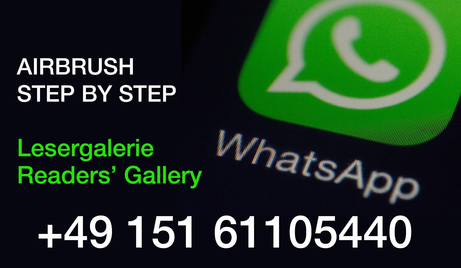 Neue WhatsApp-Nummer für Lesergalerie-Beiträge