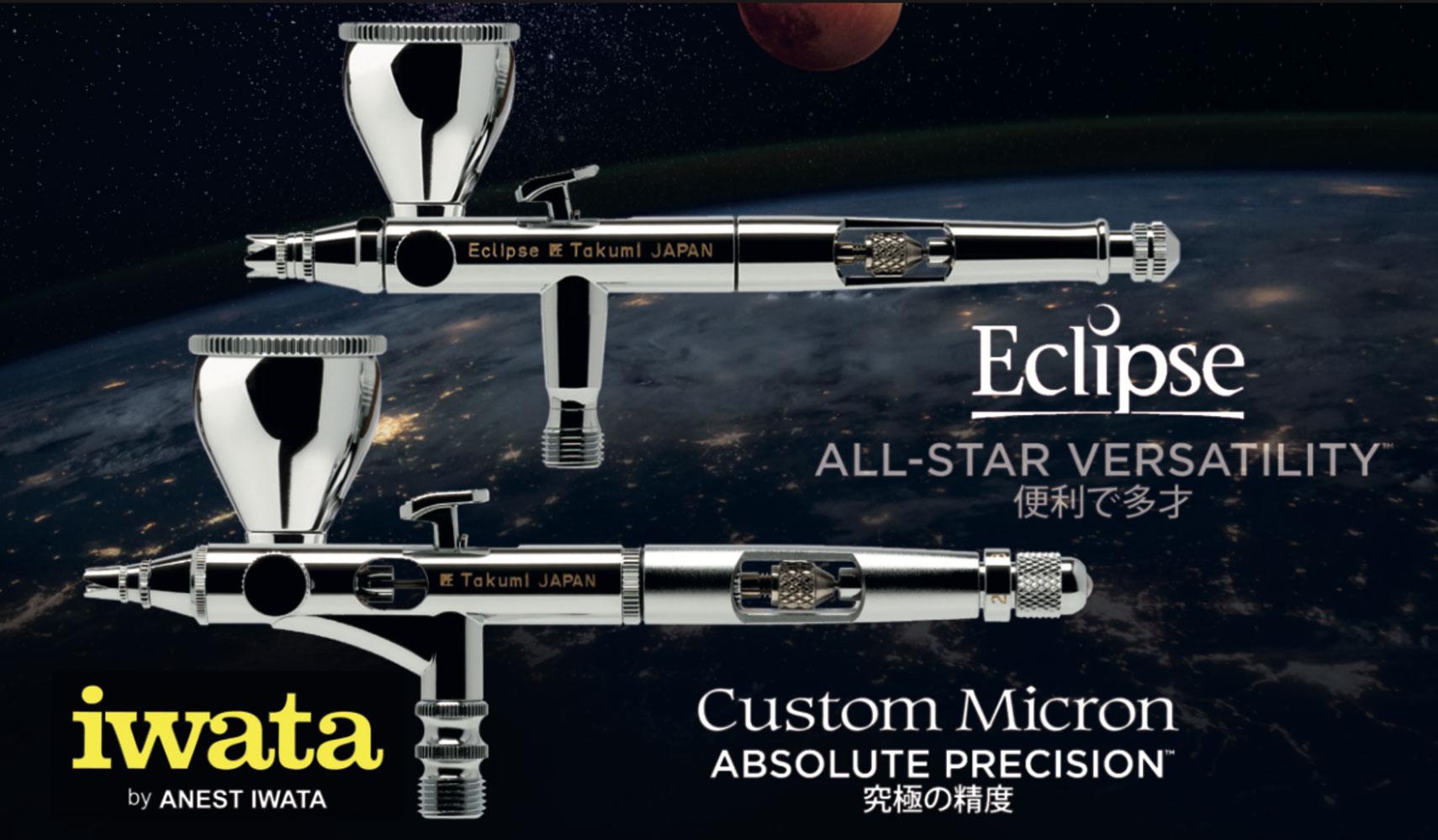 Iwata Takumi: Die neuen Seitenbecher-Airbrushes